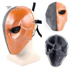 <b>Halloween</b> Party <b>Mask</b> Deathstroke Terminator <b>Costume</b> Face <b>Hood</b> ...