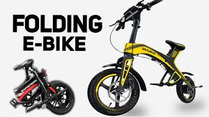 Top 5 <b>Folding Electric</b> Bikes 2019 2 - YouTube
