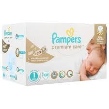 ᐅ <b>Pampers подгузники Premium</b> Care 1 (2-5 кг) 108 шт. отзывы ...