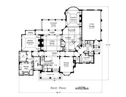 Spitzmiller  amp  Norris Premier Residential Designers   House Plans    First Floor Plan