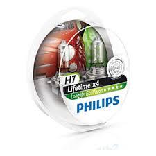<b>Лампа</b> галогенная PHILIPS H7 <b>LongLife</b> EcoVision 12V 55W, 2 шт ...
