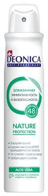 <b>Deonica антиперспирант</b>, спрей, <b>Nature Protection</b> aloe vera
