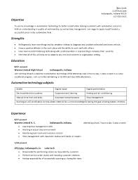 building your automotive technician geared resume auto repair facts auto resume screenshot