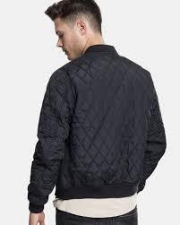 <b>Urban Classics Diamond</b> Quilt Nylon <b>Куртка</b> - Черный