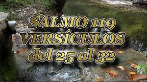 Resultado de imagen para salmo 119:25-32