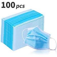 Bontel <b>100Pcs</b> Three-layer Protection Face <b>Mask</b> Surgical ...