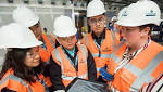 Hong Kong apprentices work with local construction company on Bertha Park High School build - The Courier