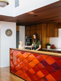 Red Tile Paint For Kitchens Red Home Decor Accessories Australia