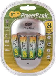 Купить AA <b>Аккумулятор</b> + <b>зарядное устройство</b> GP PowerBank ...