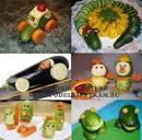 Поделки из овоще и фруктов сделать своими руками
