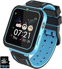 PTHTECHUS <b>Kids Smart</b> Watches for Boys Girls Phone <b>Game</b> ...