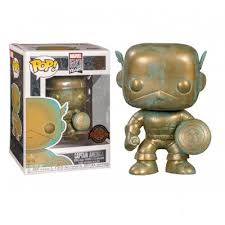 Купить <b>фигурка Funko POP</b>! <b>Bobble</b>: Marvel: Marvel 80th: Captain ...