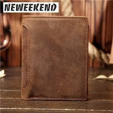 <b>NEWEEKEND Genuine Leather</b> Oil Cowhide Vertical Lichee Pattern ...