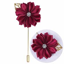 <b>10pce</b>/<b>lot</b> Bridal Golden Leaf Wedding Corsage Satin Rose Leisure ...