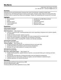Curriculum Vitae Examples For Administrative Assistant | Inside ... Curriculum Vitae Examples For Administrative Assistant Cv Template Examples Writing A Cv Curriculum Vitae Administrative Assistant