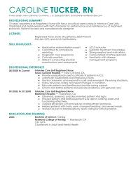 unforgettable intensive care unit registered nurse resume examples    intensive care unit registered nurse resume sample