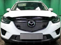 <b>Защита радиатора</b> Premium, <b>чёрная</b>, <b>верх</b> (с парктроником) 3D ...