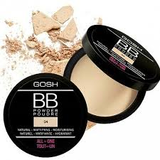 <b>gosh bb powder</b> no shine , natural look best price 4 shades