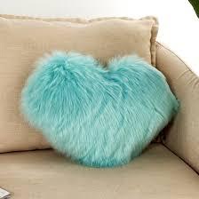 fluffy <b>faux fur</b> plush soft sofa chair bed room <b>decor</b> pillow case ...