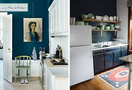Wall For Kitchens White Kitchen Cabinets Light Blue Walls Quicuacom