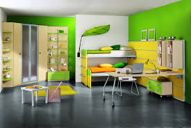 gray wall room color with bedroomappealing geometric furniture bright yellow bedroom ideas