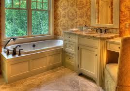 built bathroom vanity design ideas: lovely built in bathroom vanity cabinets