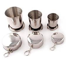 Folding Cup -NACOLA 1PCS Stainless Steel Portable ... - Amazon.com