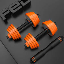 <b>fed</b> pure steel home fitness dumbbell barbell multifunctional outdoor ...