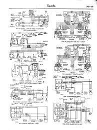 ford diagrams 57 64 mercury 57 59 seat o matic 57 60 edsel 57 64 thunderbird 4 way 6 way