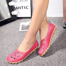 <b>Hot</b>-sale Big Size Soft Breathable Slip On <b>Hollow Out</b> Flat Shoes ...