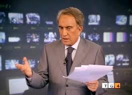 Emilio Fede su Cecchi Paone al Tg4 da lunedì: siamo passati dal davanti al didietro