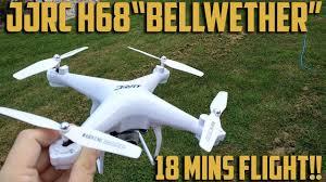 "<b>JJRC H68</b> ""Bellwether"" <b>Drone</b> Review, 18 mins flight time!! - YouTube"