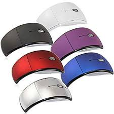 <b>2.4G Wireless</b> USB <b>Folding</b> Optical Mouse for PC Computer Laptop