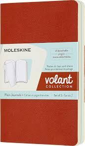 <b>Блокнот Moleskine Volant</b>, QP713F16B24, оранжевый, голубой ...