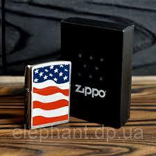 <b>Зажигалка</b> Zippo 24375 American Flag: продажа, цена в Днепре ...
