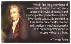 Thomas Paine on Pinterest | Common Sense, Learning Quotes and Good Men via Relatably.com