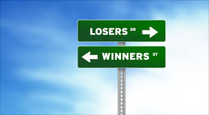 Image result for images of winners and losers