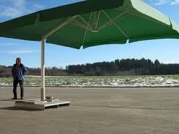 patio ft cantilever umbrella: big sized of green cantilever patio umbrella with white metal stand for patio furniture ideas