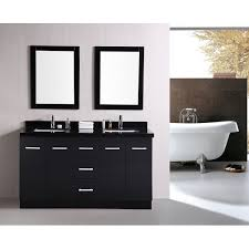 bathroom vanity 60 inch: shining inspiration  inch double sink bathroom vanity moscony gray tops white vanities cabinets cottage