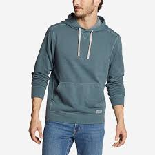<b>Men's</b> Camp Fleece Riverwash Pullover Hoodie | Eddie Bauer