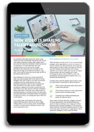our resources to make better hiring decisions white paper how video is shaping talent acquisition