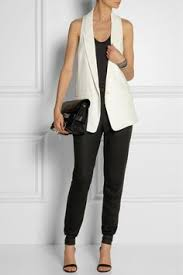 Image result for long vest for women