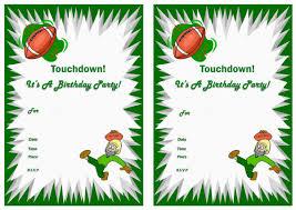 printable birthday invitations football printable birthday invitations football theme 1228 x 868 560 x 396