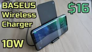 <b>Baseus</b> 10W <b>Wireless</b> Charger only 16 USD - YouTube