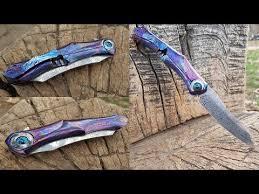 <b>Складные ножи</b> из ДАМАССКОЙ стали ТИТАНА, КАРБОНА ...