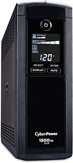 CyberPower CP1500AVRLCD Intelligent LCD UPS ... - Amazon.com