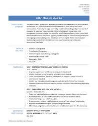 resume chef resume chef 3947