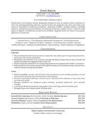 Customer Service Manager Resume Sample Customer Service Manager Resume Description