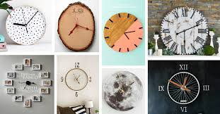 29 Best <b>DIY Wall Clock Ideas</b> and Designs for 2020