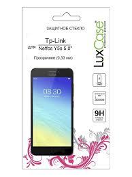 "<b>Защитное стекло</b> Tp-Link <b>Neffos</b> Y5s 5.0""|на плоскую часть экрана ..."